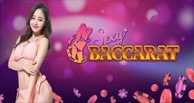 คาสิโนออนไลน์ Sexy Baccarat เว็บคาสิโนที่บริการโดยสาวสวยแสนน่ารัก